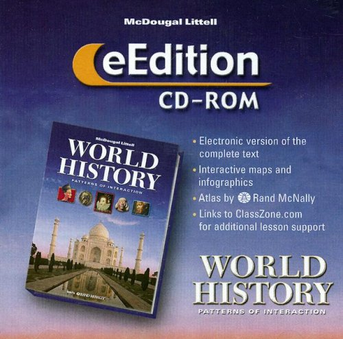 World History: Patterns of Interaction, E-edition CD-ROM Text fb2 ebook