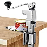 Large Can Opener,11'Tall Commercial Heavy Duty Can Opener Kitchen Home Restaurant Food Big Can Opener Table Mount