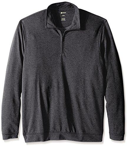 Haggar Big Tall Twill Quarter Sweater
