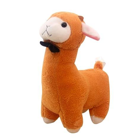 jennyus 15.7 Inches Alpaca Peluches Toys Alpacasso Jumbo Plush Animal Stuffed Toy for Girls Kids Lover