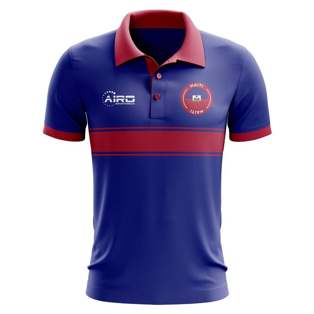 Airo Sportswear Haití Concept - Polo de fútbol con diseño de Rayas ...