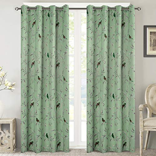thermal patterned curtains - 1