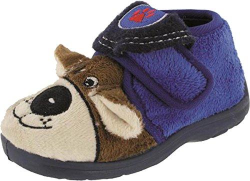 Mirak Bungle Kinder Touch Befestigung Slipper TPU Sohle Schuhe Blau