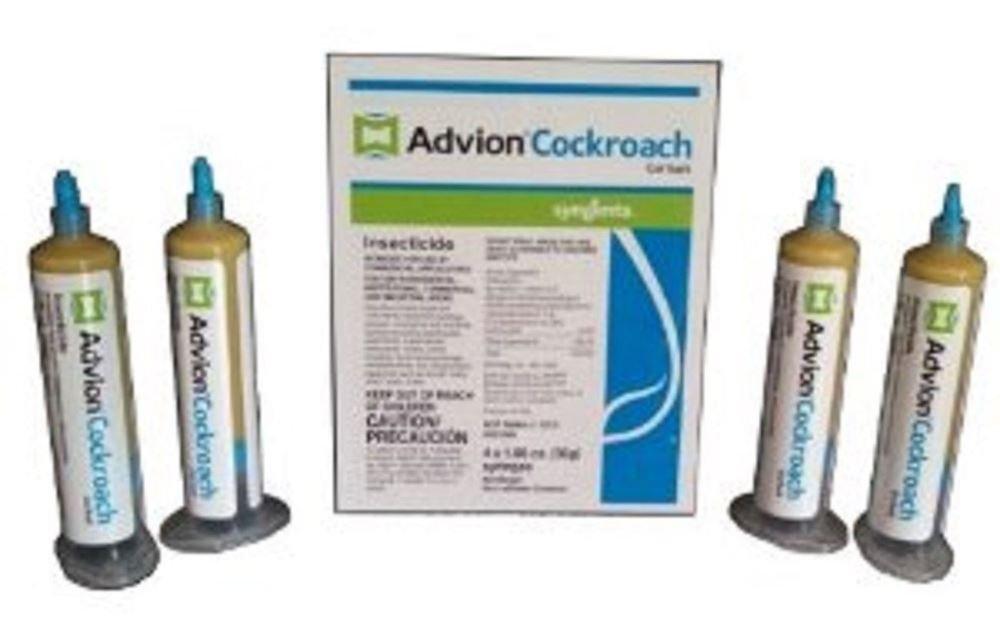 Advion Roach Bait Gel 1 box(4-30g syringes)