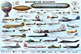 History of Aviation Poster 36 x 24in