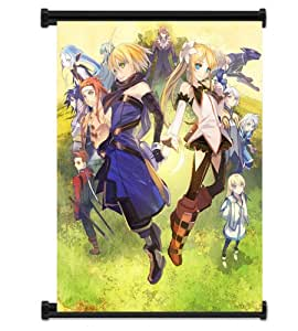"""Tales of Symphonia Video Game Fabric Wall Scroll Poster (32"""" x 42"""") Inches"""