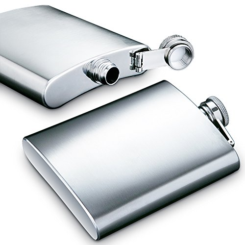 Hip-Flask-5oz-and-8-oz-with-One-Handy-Funnel-maxin-2-packs-Stainless-Steel-Leak-Proof-Liquor-Hip-Flasks-with-Funnel-for-Storing-WhiskeyAlcohol