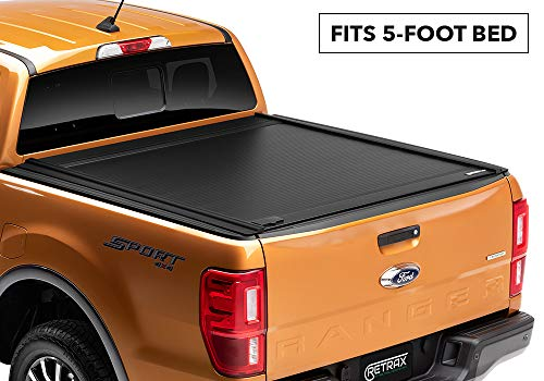 Retrax RetraxONE MX Retractable Truck Tonneau Cover | 60335 | fits 2019 Ranger 5' Bed
