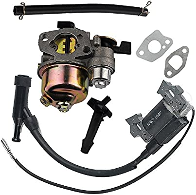 HIPA carburador + Bobina de encendido para Honda GX110 GX120 motor ...