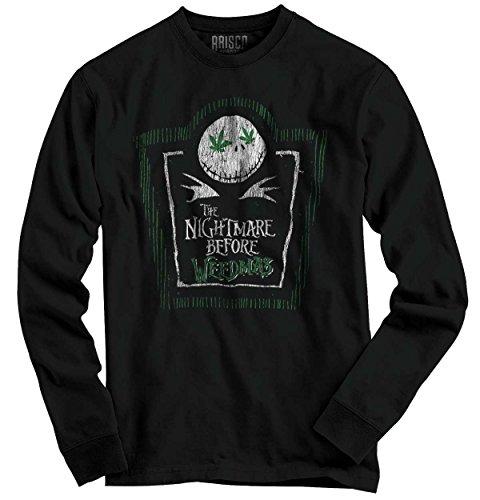 Nightmare Before Christmas | Jack Skellington Weed Pot 420 K2 Long Sleeve (This Is Halloween Jack Skellington)