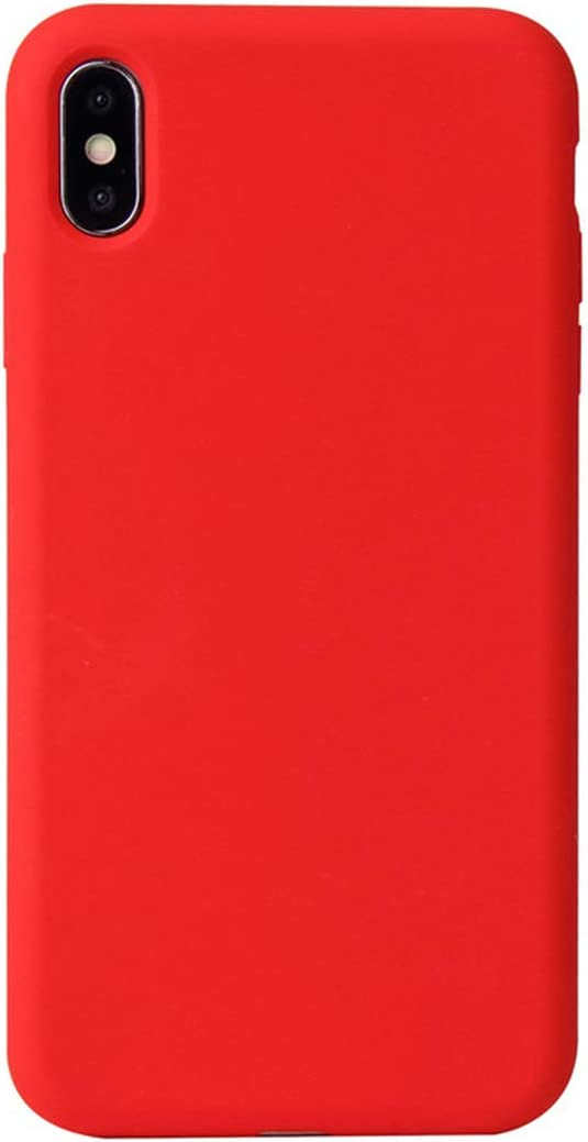 Custodia in silicone per iPhone XS Max - (PRODUCT)RED - Apple (IT)