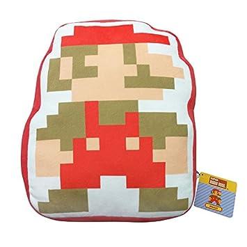 Nintendo Cojín Mario 8 bit, 30cm. Super Mario Bros: Amazon ...