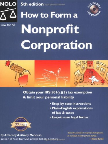 How To Form A Nonprofit Corporation  HOW TO FORM YOUR OWN NONPROFIT CORPORATION