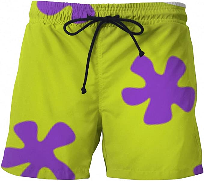 Cute Summer Men Casual Shorts 3D Cartoon Patrick Star Trousers for Women//Men Regular Shorts Drop Shipping 3 M