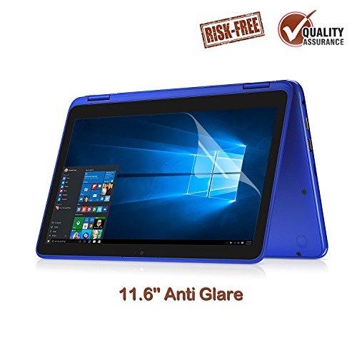 FORITO 11.6 Anti Glare Screen Protector Compatible for Dell Inspiron 11 11.6 / 11.6 Samsung Chromebook 3 / Acer Chromebook R11 CB3-131 CB5-132/11.6 Lenovo N23 Yoga 710 / HP Chromebook 11