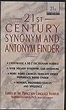21st Century Synonym and Antonym Finder (21st Century Reference)
