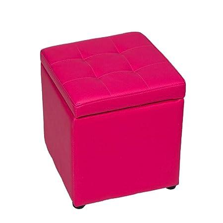 HMEIGUI Taburete de Almacenamiento Cube Kids Seat, Otomana Puff ...