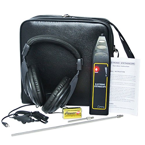 Autos Noise Finder Detector Electronic Stethoscope with An Adjustable Headset