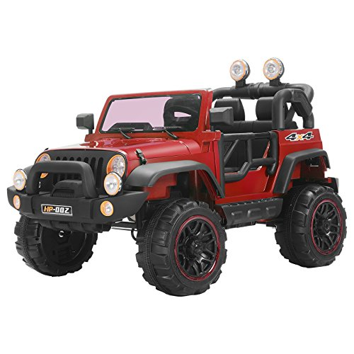 Murtisol Kids Power Wheels Electric Ride on Cars with Remote Control 2 Speed 12V 8 Colors (red)