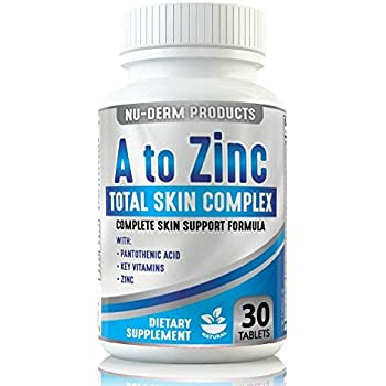 Amazon Com A To Zinc Acne Vitamins Best Acne Pills