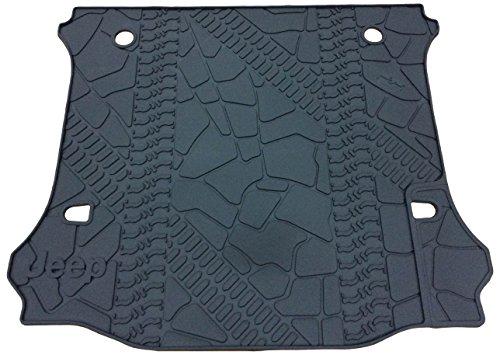 Mopar 82213184 Molded Cargo Tray (Black Cargo Tray)