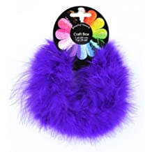 Midwest Design Touch of Nature 36860 Fluffy Craft Boa, Purple