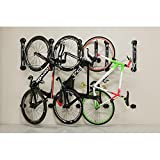 Gear Up Steady Rack 1 Bike Vertical Storage Rack Black One Size For Sale