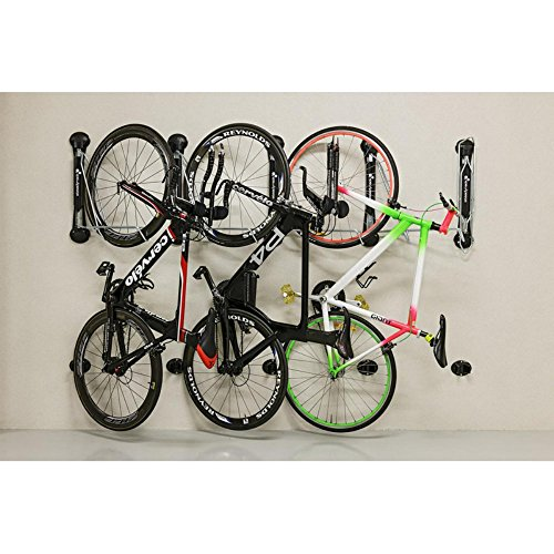 Gear Up Steady Rack 1 Bike Vertical Storage Rack Black One Size