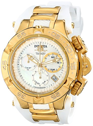 Invicta Women's 17235 Subaqua Analog Display Swiss Quartz White Watch