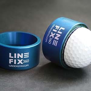 GrooveFix LineFix360 - Marcador para pelota de golf, color azul
