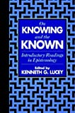 On Knowing and the Known, , 1573920509