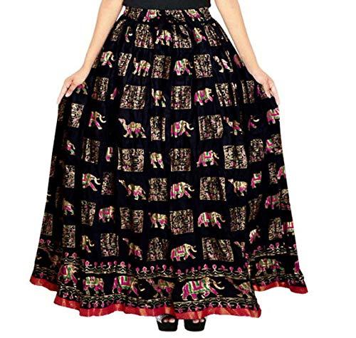 Silver Organisation Women's Cotton Skirt  Multicolor