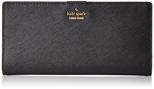 Cameron Street Large Stacy Wallet, Black, One Size by Kate Spade New York