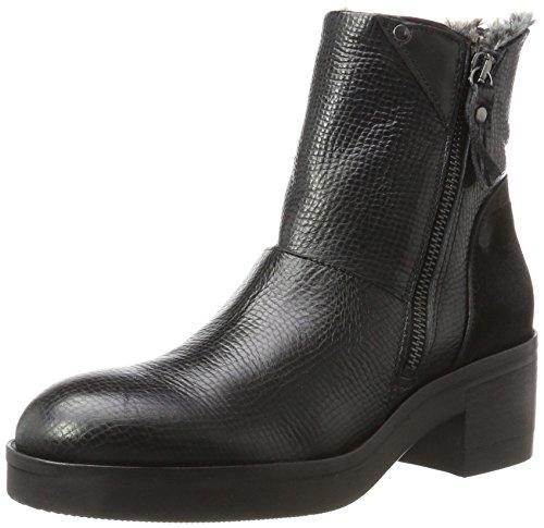 LiliMill Damen Vasco Chelsea Boots Schwarz (Nero)