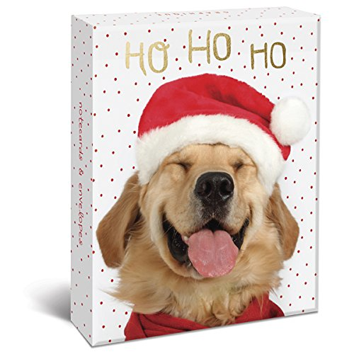 Graphique Puppy Christmas Cards Greeting Card  (BM1014)