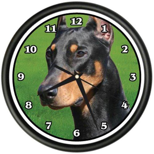 Doberman Pinscher Dog Breed - DOBERMAN PINSCHER Wall Clock dog doggie pet breed gift
