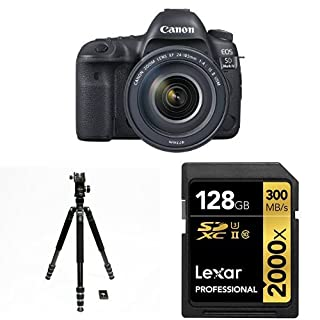 Canon EOS 5D Mark IV Full Frame Digital SLR Camera with EF 24-105mm f/4L IS II USM Lens Accessory Bundle (B01M11BRG9) | Amazon price tracker / tracking, Amazon price history charts, Amazon price watches, Amazon price drop alerts