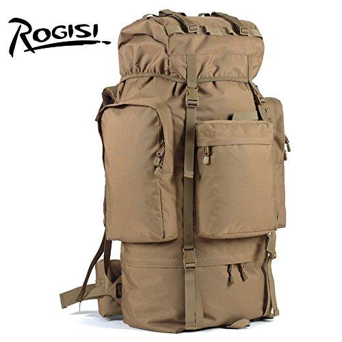 HYSXM Mountaineering Bag 100L Outdoor Freizeitaktivitäten leichtes Wandern Bergsteigen floding Paket Wasserdicht Großes Fassungsvermögen Haut Taschen
