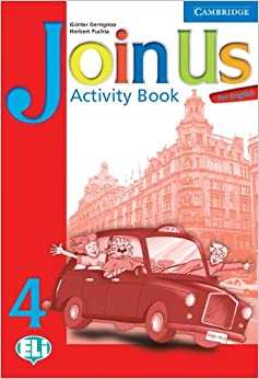 Book Join Us for English 4 Activity Book: Level 4 (Join in)