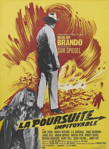 The Chase Poster French 27x40 Marlon Brando Robert Redford Angie Dickinson ()
