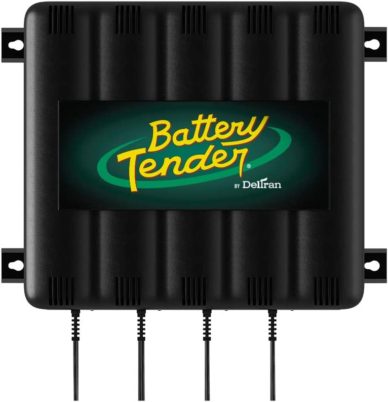 Battery Tender 4-Bank: 12V Battery Charger