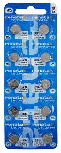 Renata Watch Battery 394 (Package of 10) by JewelrySupply