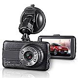 GZDL Full HD 1080P Mini Dash Cam Car Blackbox Car DVR Dashboard Camera Vehicle Camera Front G-Sensor Motion Detection Loop Video Recorder Night Vision