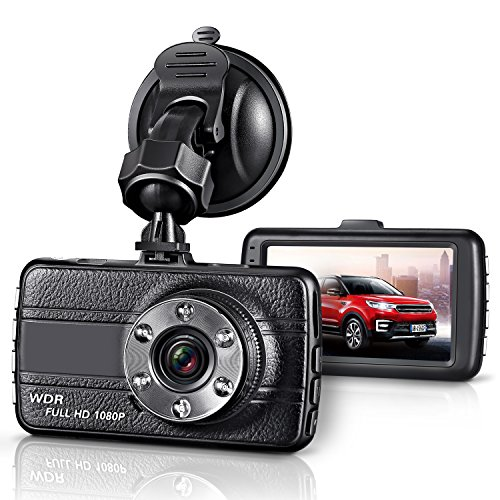GZDL Full HD 1080P Mini Dash Cam Car Blackbox Car DVR Dashboard Camera Vehicle Camera Front G-Sensor Motion Detection Loop Video Recorder Night Vision