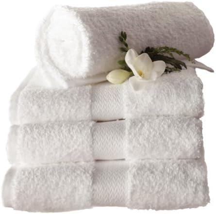 Blanco toalla de baño (Pack de 3) 700 x 1300 mm: Amazon.es: Hogar