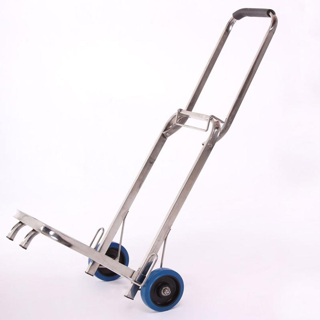 MOXIN Carretilla de mano (plegado automático, ruedas de goma con rodamientos metálicos)Carrito: Amazon.es: Hogar