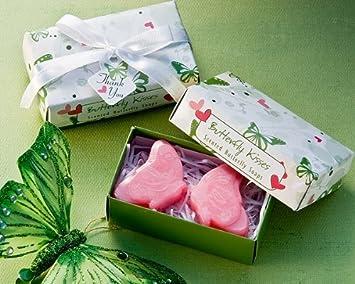 butterfly kisses scented soaps wedding and bridal shower favor guest keepsake gift bulk buy