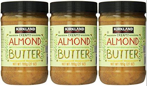 Kirkland Signature - Creamy Almond Butter, 27 Ounce - 3 Jars
