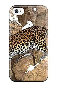 Anti-scratch And Shatterproof Jaguar Phone Case For Iphone 4/4s/ High Quality Tpu Case