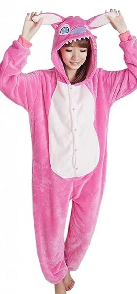 EOZY Pijama Para Mujer Hombre Adulto Diseño De Animal Rosa Tamaño S